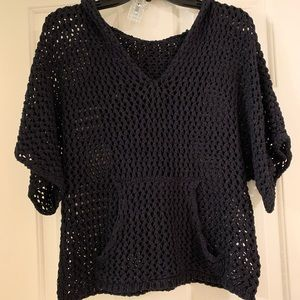 Forever21 black knitted sweater